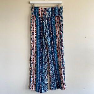 C.Wonder Boho Elastic Waist Pants Size S